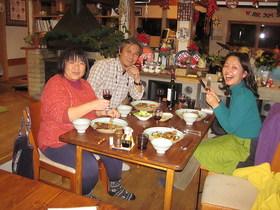 14/01/04-5 山歩会スノーシュー宿編