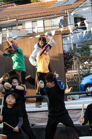 14/11/06 青梅宿アートフェス WODEと青梅太鼓さん