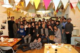 15/01/17  KTホールぶらりカフェは3周年記念パーティー