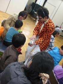 2015/1/24 事前交流会「モンちゃんと遊ぼう」