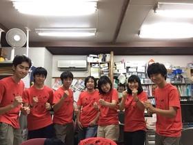 16/07/30 高校生キャンプTシャツつくりました