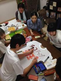 16/07/31 青梅ブロックキャンプ最終作業