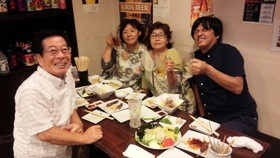 16/08/30 事務局スタッフ暑気払い