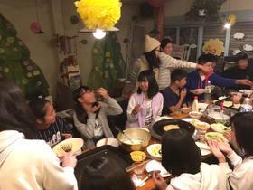 16/12/11 ふれあいフェスタおばけ屋敷担当打ち上げ
