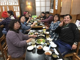 16/12/18 文化祭ご苦労さん会