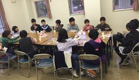 16/11/23 子フェスお化け屋敷打ち上げ