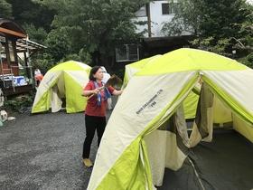 17/08/08  子どもキャンプ片付け