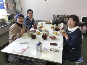 17/10/17 総務部 おばあちゃんの料理教室