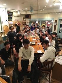 17/12/9ふれあいフェスタお化け屋敷打ち上げ