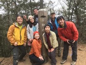 17/12/24 山歩会 日和田山&物見山