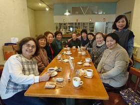 18/03/12 かみさん会ひなまつり展撤収