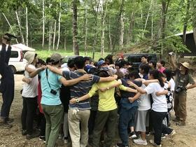 18/08/04 子どもキャンプが始まった