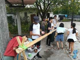 18/9/24. はむらB流しそうめん