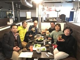 18/12/20  事務局スタッフ忘年会