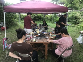 20/06/20山歩会BBQ