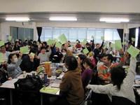 11/03/06 第10年度定期総会&第3回子ども文化地域コーディネーター講座