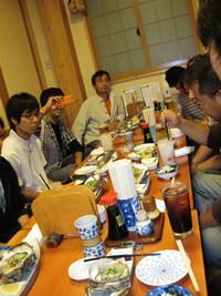 11/10/10 キャンプ常任実行委員会お疲れさん会