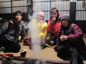 12/01/04  山歩会スノーシュー ツアー3日目