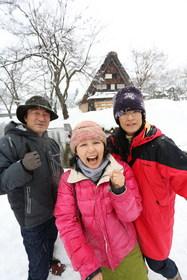 13/01/02 山歩会白川郷スノースーツアー1日目