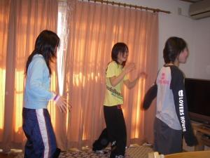 ダンス練習1