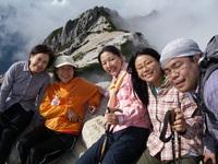 山歩会北アルプス山行燕岳ー常念岳